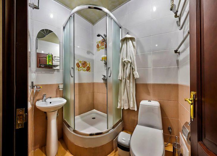 Ванная в одноместном номере