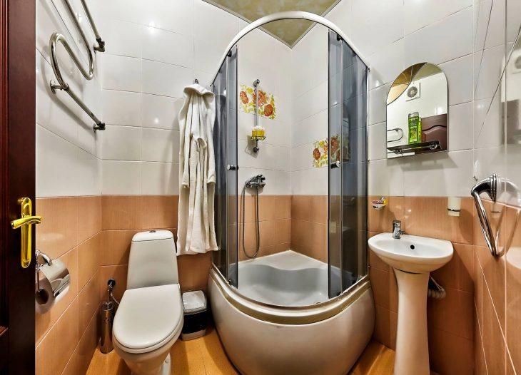 Ванная в двухместном номере